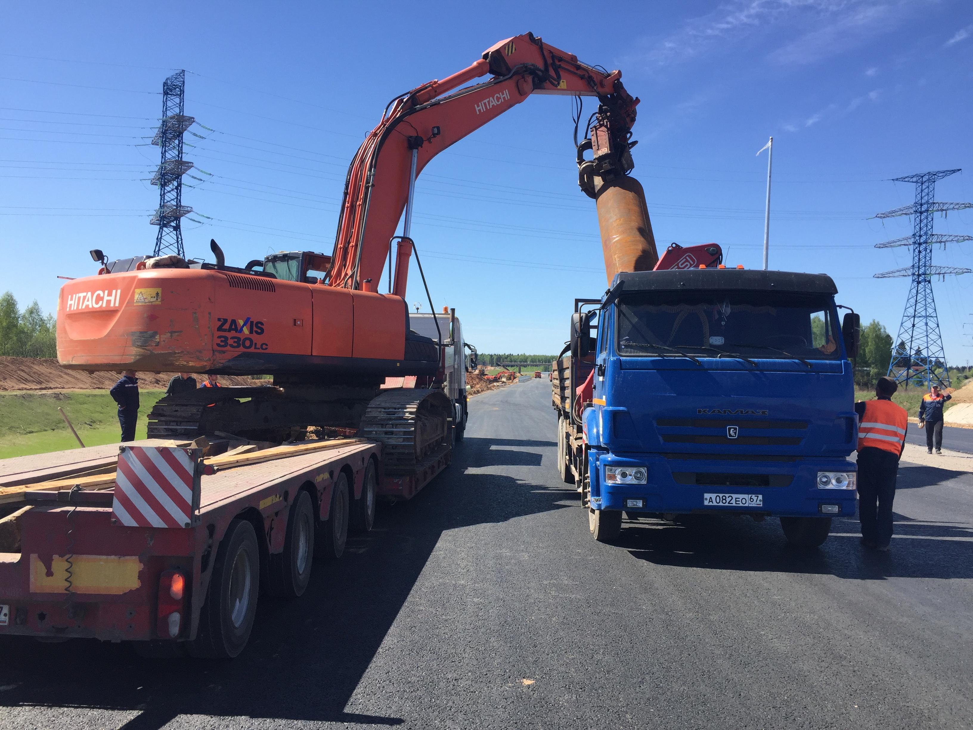 Строительство А/Д М-11 от 58 км до 149 км